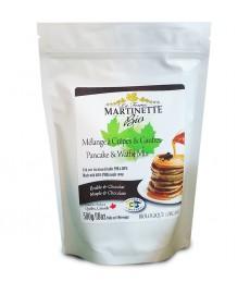 ORGANIC Pancake & Waffle Mix-MAPLE-CHOCOLATE (500g)